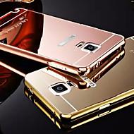 billiga Mobil cases & Skärmskydd-fodral Till Samsung Galaxy Samsung Galaxy Note Plätering Spegel Skal Ensfärgat Metall för Note 5 Note 4 Note 3