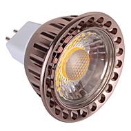 billige Spotlys med LED-5W GU5.3(MR16) LED-spotpærer MR16 1 COB 850 lm Varm hvit Kjølig hvit Dimbar Dekorativ AC 12 V 1 stk.