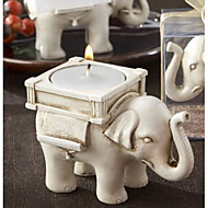 cheap Candles & Candleholders-Vintage European Elephant Candle  Holder Home Decoration Wedding Supply