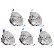 baratos Luzes LED de Encaixe-5pçs 350lm Lâmpada de Embutir 3 Contas LED LED de Alta Potência Regulável Branco Quente / Branco Frio