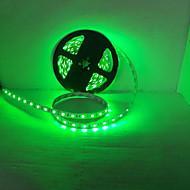 お買い得  LEDストリップライト-LEDライトストリップ発光ダイオード3528SMD 300led防水/ IP65緑色の光/青色光DC12Vの5メートル/ロット