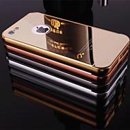 iPhone 5cのための金属フレーム電話ケースとバック新しいメッキミラー(アソートカラー)