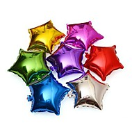 """cheap Holiday Decorations-18"""" 10PCS/SET Mixed Colors Five Pointed Star For Wedding Birthday Party Supplies Decoration Ballons Aluminum Foil Ballon"""