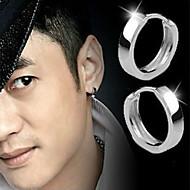 Homens Feminino Brincos Curtos Moda bijuterias Prata de Lei Jóias Para Casamento Festa Diário