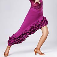 Dans Latin Fuste de balet & Fuste Pentru femei Antrenament / Performanță Viscoză Drapat Fustă