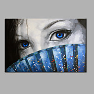 Single Modern Abstract Pure Hand Draw Ready To Hang  Decorative  Veiled Woman Oil Painting