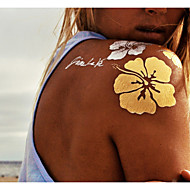 billiga Temporära tatueringar-9 pcs Tatueringsklistermärken tillfälliga tatueringar Ogiftig Body art Ansikte / händer / arm / Mönster