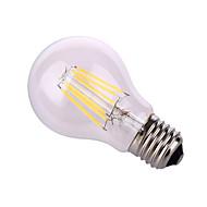 お買い得  LEDボール型電球-12W E26/E27 LEDボール型電球 A60(A19) 6 COB 1020 lm 温白色 / ナチュラルホワイト 装飾用 交流220から240 / AC 110-130 V 1個