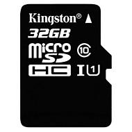 baratos Cartões de Memória-Kingston 32GB TF cartão Micro SD cartão de memória UHS-I U1 class10
