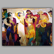 People in Celebration Happy Scence Oil Painting For Children Room