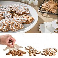 baratos Utensílios para Biscoitos-Ferramentas bakeware Plástico Faça Você Mesmo Bolo Moldes de bolos 1pç