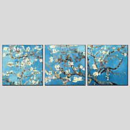 billiga Oljemålningar-Hang målad oljemålning HANDMÅLAD - Stilleben Europeisk Stil Moderna Duk
