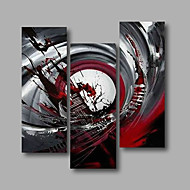 cheap Oil Paintings-Hand-Painted Abstract Any Shape, Modern Canvas Oil Painting Home Decoration Three Panels