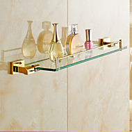 levne Ti-PVD Series-Polička do koupelny Moderní Mosaz 1 ks - Hotelová koupel