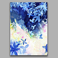 cheap Oil Paintings-Hand-Painted Abstract Vertical, Style Canvas Oil Painting Home Decoration One Panel
