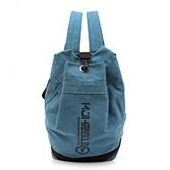 baratos Mochilas-Mulheres / Unisexo Bolsas Tela de pintura mochila Sólido Verde / Azul / Khaki