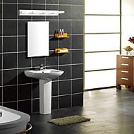 baratos Luzes para Espelho-Moderno / Contemporâneo Iluminação do banheiro Metal Luz de parede IP44 90-240V 3W