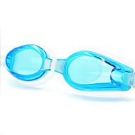 Óculos de Natação Unisexo Anti-Nevoeiro Gel Silica PC Amarelo / Cinzento / Preto / Azul / Azul Escuro / BegeAmarelo / Vermelho / Cinzento