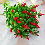 preiswerte -Künstliche Blumen 1 Ast Simple Style Pflanzen Tisch-Blumen