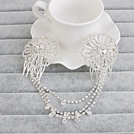 cheap Dazzling Accessories-Rhinestone Head Chain 1 Wedding Special Occasion Casual Office & Career Outdoor Headpiece