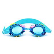 משקפי שחייה נגד ערפל סיליקה ג'ל PC אדום ורוד כחול כחול כהה אדום ורוד כחול כחול כהה