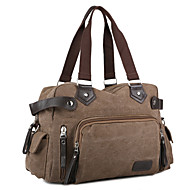 Unisex Bags All Seasons Canvas Travel Bag for Casual Gray Brown Green Blue Khaki