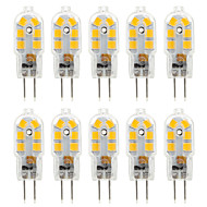 ywxlight® 2.5w g4 led bi-pin lumini 14 smd 2835 250 lm cald alb rece alb decorativ ac 220-240 dc 12 v 10pcs