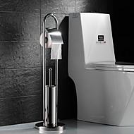Toilet Paper Holder Toilet Brush Holder / Stainless Steel Stainless Steel /Contemporary