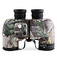 cheap Camping & Hiking-Boshile 10 X 50 mm Binoculars / Range Finder Waterproof / Compass / Roof Prism Green / Camouflage / IPX-7 / Fully Multi-coated