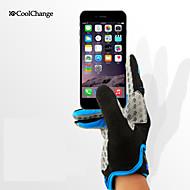 CoolChange Luvas Esportivas Luvas Táteis Luvas de Ciclismo Resistente Raios Ultravioleta Permeável á Humidade Vestível Anti-desgaste