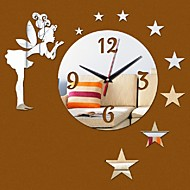 Rotund Modern/Contemporan / Informal / Birou / Afacere Ceas de perete,Vacanță / Case / Inspirațional / Prieteni / Zi de Naștere / Nuntă /