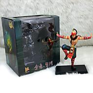 League of Legends Lee Sin PVC The Blind Monk 18CM Anime Action Figures Doll Toys Model