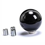 universeel witte ronde bal gevormde versnellingspook knop voor de hand autowas auto