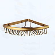 Bathroom Shelf / Antique Copper Brass /Neoclassical