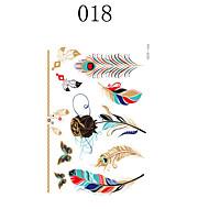 abordables -1-Séries de totem / Autres-Multicolore-Motif-21*15cm- enPapier-Temporary Paints-自主-Homme / Femme / Adulte / Adolescent