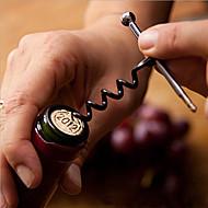 Paslanmaz çelik şarap şişe açacağı tirbuşon metal anahtarlık açık şişe açacağı