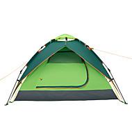 Makino 3-4 persoane Cort Triplu Cort de campare O cameră Bine Ventilat Impermeabil Rezistent la Vânt Rezistent la Praf Anti-Insecte