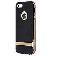 billiga Mobil cases & Skärmskydd-fodral Till iPhone 5 / Apple iPhone 5-fodral Stötsäker Skal Rustning Hårt PC för iPhone SE / 5s / iPhone 5