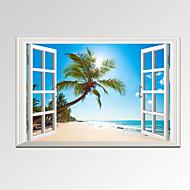 風景 人物 カジュアル 写真 現代風 ロマンチック トラベル 1枚 横式 プリント 壁の装飾 For ホームデコレーション