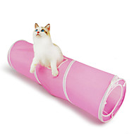 baratos -Gato Brinquedo Para Gato Brinquedos para Animais Tubos e Túneis Dobrável Para animais de estimação