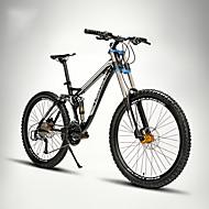 hesapli -Dağ Bisikleti Bisiklet 24 Hız 26 inç/700CC EF-51-8 Çift Disk Freni Süspansiyon Çatalı Tam Süspansiyon Yumuşak Kuyruk Çerçeve Alüminyum