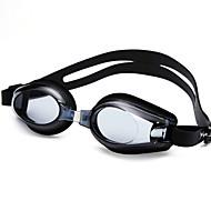 billiga Swim Goggles-Simglasögon Vattentät / Anti-Dimma / Justerbar storlek Kiselgel PC Svart / Blå Genomskinlig