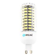 9W G9 LED-kornpærer T 80 leds SMD Varm hvit Kjølig hvit 800lm 6000-6500;3000-3500K AC 220-240V