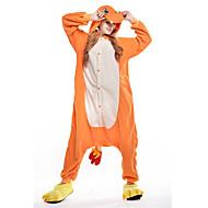 Kigurumi plišana pidžama Zmaj Onesie pidžama Kostim Flis žuta Cosplay Za Zivotinja Odjeća Za Apavanje Crtani film Noć vještica Festival /