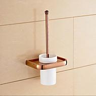 Tuvalet Fırçası Tutacağı Banyo Gereçleri / Altın Neoklasik