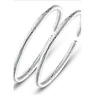 billige Charm Armbånd-Dame Sølv Armbånd - Sølv Armbånd Til Bryllup Fest Daglig