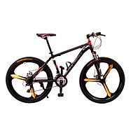 Χαμηλού Κόστους -Ποδήλατο Βουνού Ποδηλασία 21 Ταχύτητα 26 ίντσες / 700CC Διπλό δισκόφρενο Πιρούνι Ανάρτησης Πλήρη ανάρτηση Αντιολισθητικό Κράμα αλουμινίου / Ατσάλι