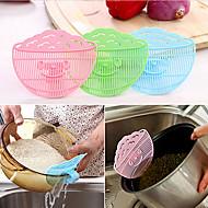 baratos Utensílios de Fruta e Vegetais-Utensílios de cozinha Metal Gadget de Cozinha Criativa Escumadeira para o arroz 1pç