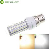billige Kornpærer med LED-SENCART 4stk 5 W 900-1200 lm E14 / G9 / GU10 LED-kornpærer 102 LED perler SMD 2835 Vanntett / Dekorativ Varm hvit / Kjølig hvit 220-240 V / 110-130 V / 4 stk. / RoHs