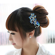 cheap Wedding Headpieces-Alloy Hair Combs Headwear Hair Tool with Floral 1pc Special Occasion Casual Headpiece